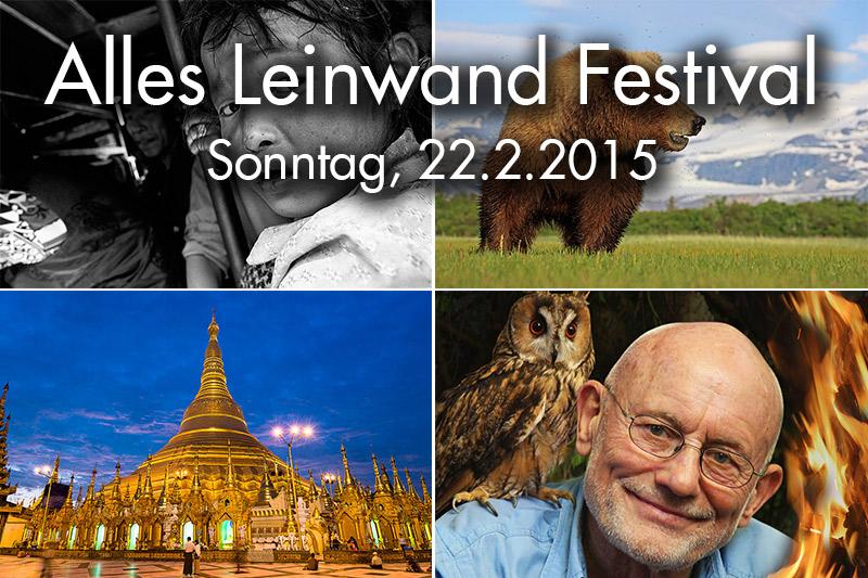 Alles Leinwand Festival Sonntag