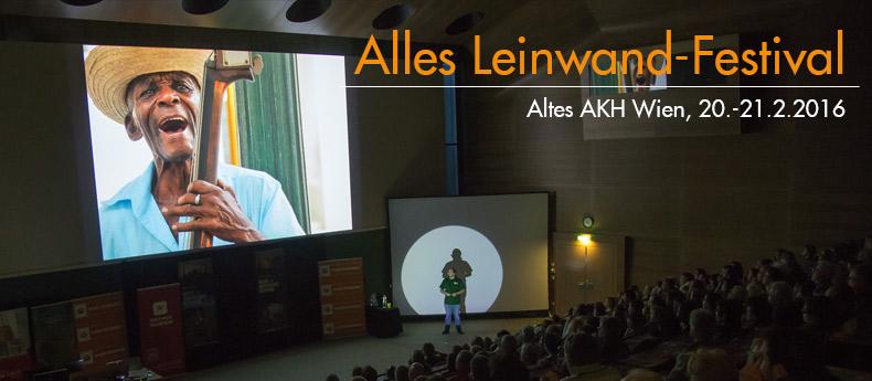 Alles Leinwand Festival Wien 2016