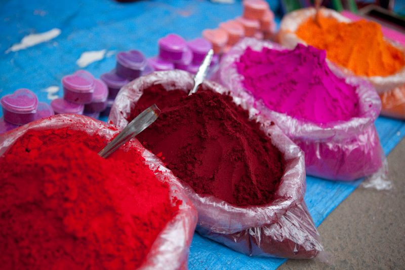 Indien Farben
