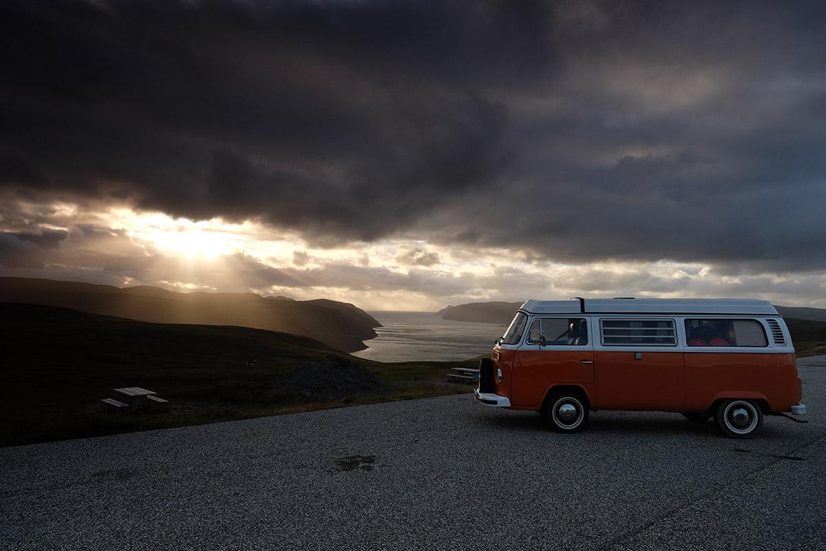 Mit dem VW-Bus von Gibraltar ans Nordkap