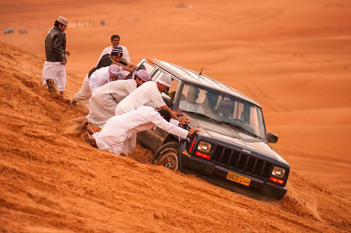 Oman und Emirate